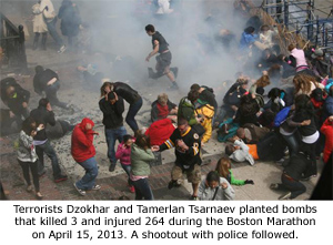 Boston Marathon Bombing - 2013
