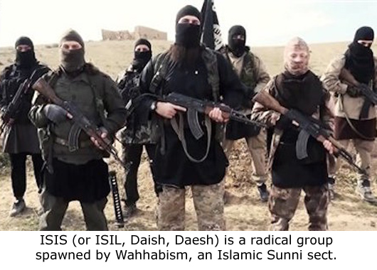 ISIS - Product of Wahhabism